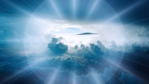 Seeing from heaven's perspective!