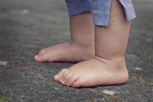 Small feet! Big steps!