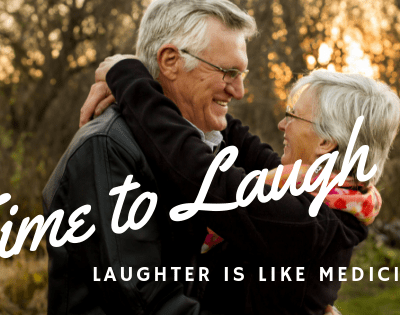 Laughter is Good Like a Medicine! It is Time to Laugh!