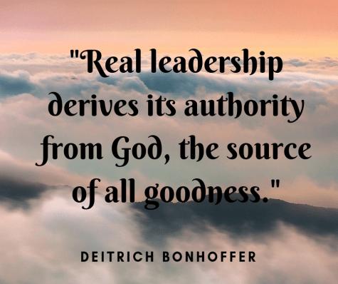 Leadership Promotion - Deitrich Bonhoffer