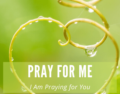 The Privilege of Prayer – I Am Praying for You, Pray for Me