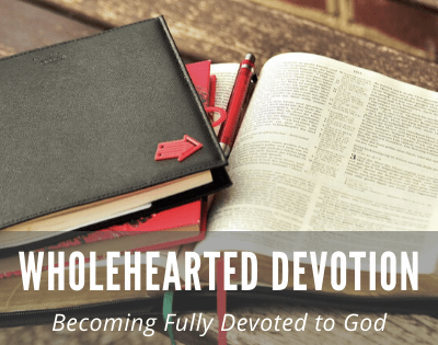 David, A Man of Wholehearted Devotion to God