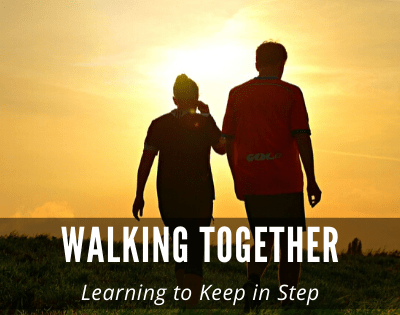 Walking Together and Learning to Keep in Step