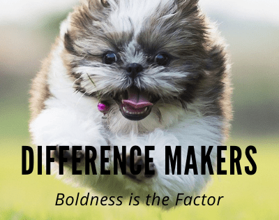 Boldness! Difference Makers Possess a Different Spirit