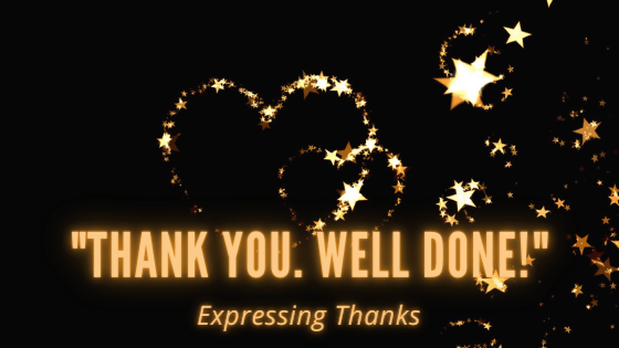 Expressings Thanks