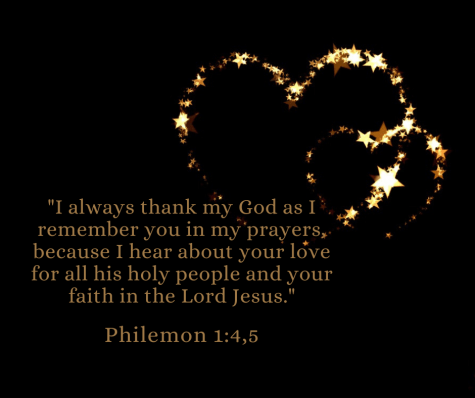 Philemon 1:4,5