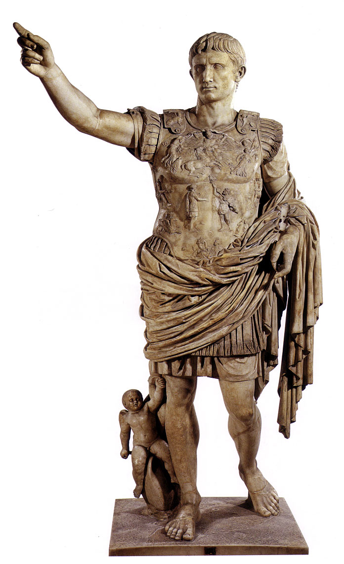 Image of the statue of Julius Caesar