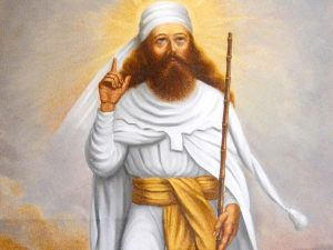 The Prophet Zoroaster from Ancient Persia