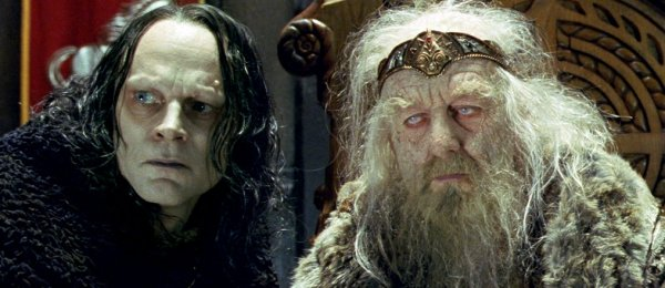 The Two Towers - Wormtongue and KingTheoden