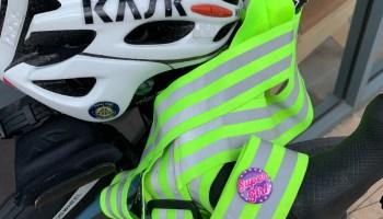 Helmet and Hi-viz