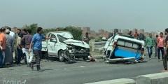 فسر لماذا يسبب تصادم سيارتين مسرعتين اضرار اكثر من تصادم سيارتين بطيئتين