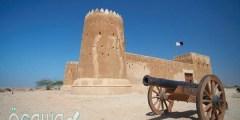 متى تم بناء قلعة الزبارة في قطر