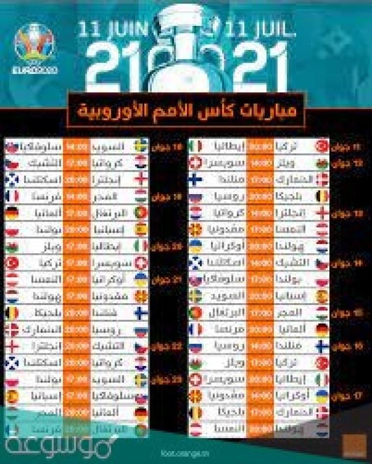 بطولة يورو 2021