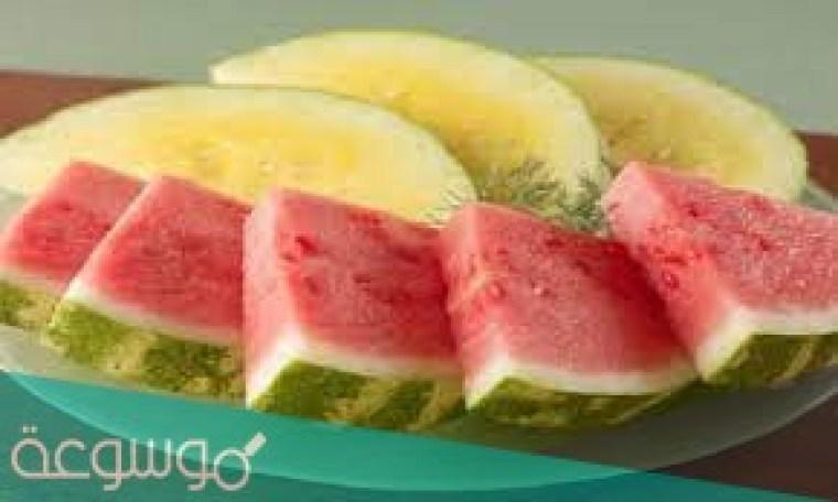 تعرف البطيخ الحلو