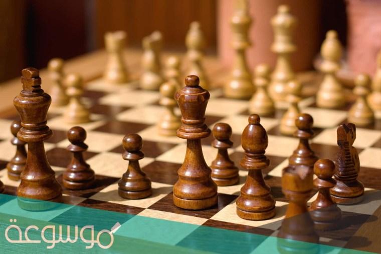 اول شعب عرف الشطرنج