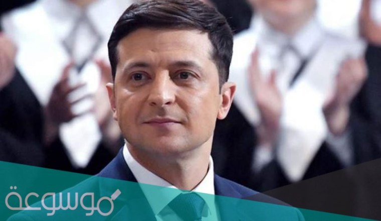 من هو رئيس أوكرانيا