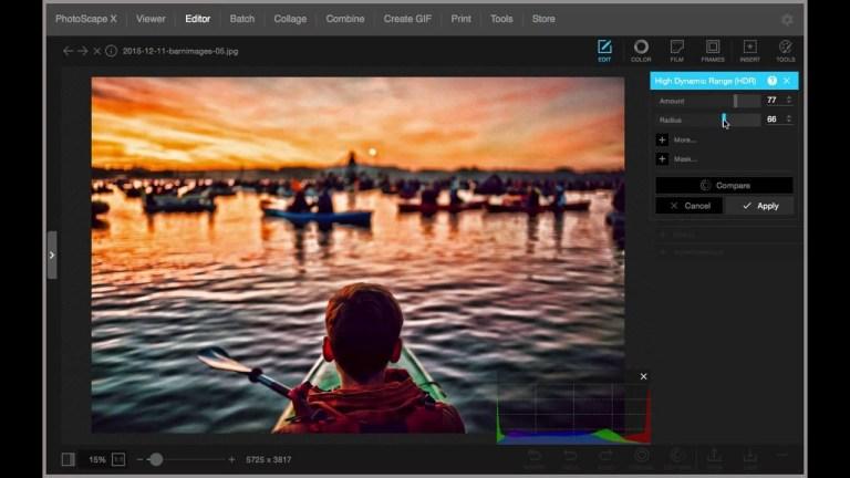 PhotoScape X Pro Screenshot
