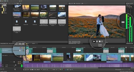 MAGIX Vegas Pro 15.0.0.387 [Full] ถาวร ตัดต่อวีดีโอระดับมืออาชีพ