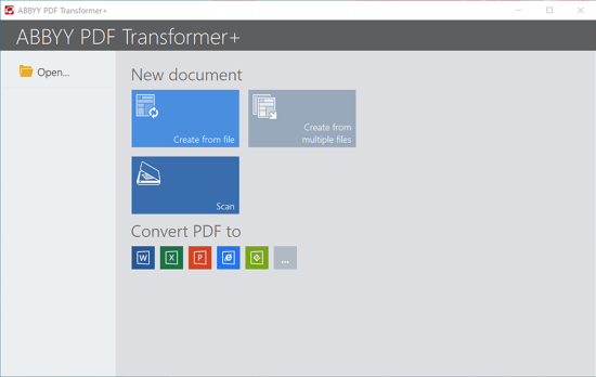ABBYY PDF Transformer 12 [Full] แปลงไฟล์PDFเป็นWordไม่เพี้ยน