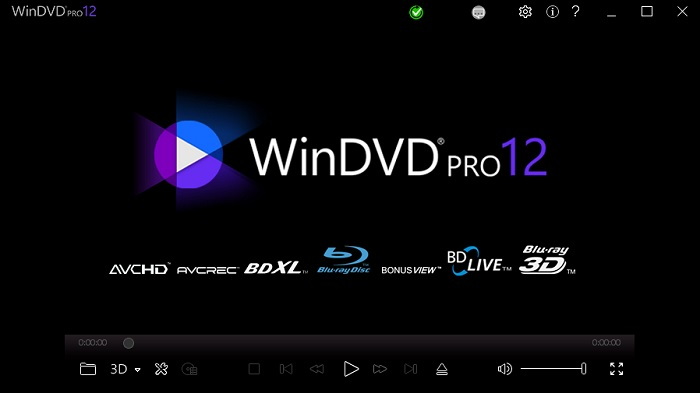 Corel WinDVD Pro 12 Screenshot
