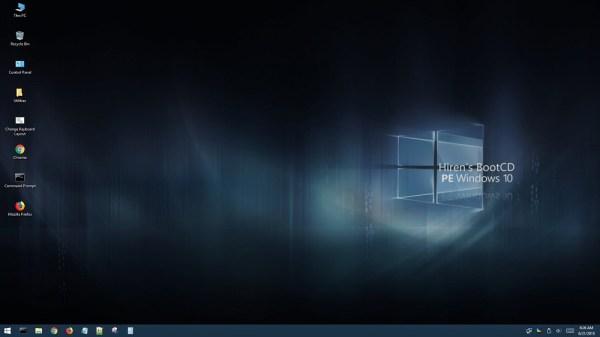 Hiren's BootCD PE v1.0.1 x64 แผ่นบูตฉุกเฉิน Windows 10 [.ISO]