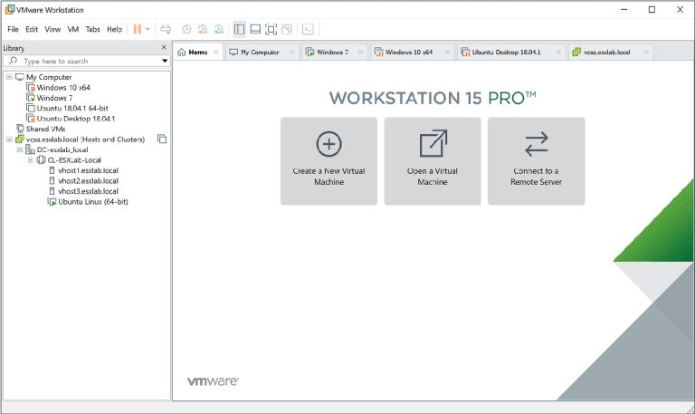 VMware Workstation Pro 15.5.7 [Full] ถาวร โปรแกรมจำลองวินโดว์