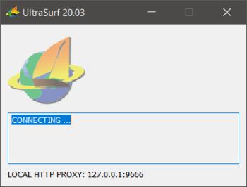 UltraSurf 20.03 (Full) ฟรี โปรแกรม VPN เข้าเว็บที่โดนบล็อก