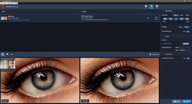 Topaz Gigapixel AI Screenshot