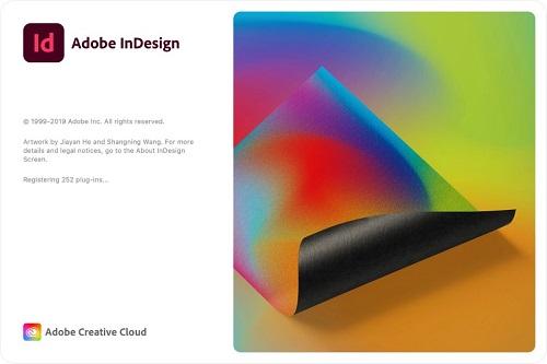 Adobe InDesign 2020 Logo