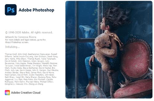 Adobe Photoshop 2020 Logo