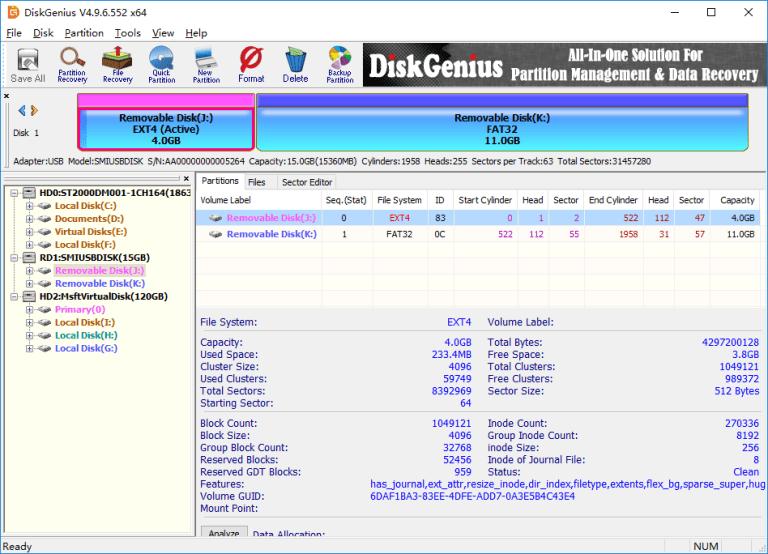 DiskGenius Pro Screenshot