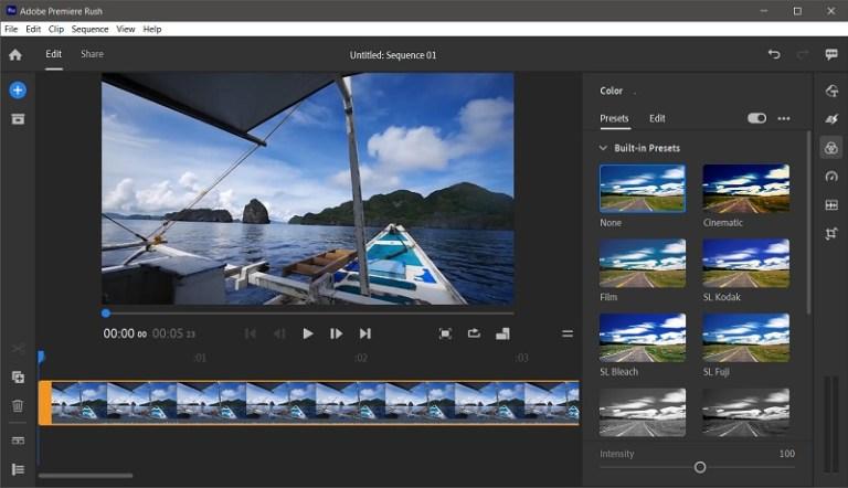 Adobe Premiere Rush 1.5 Screenshot