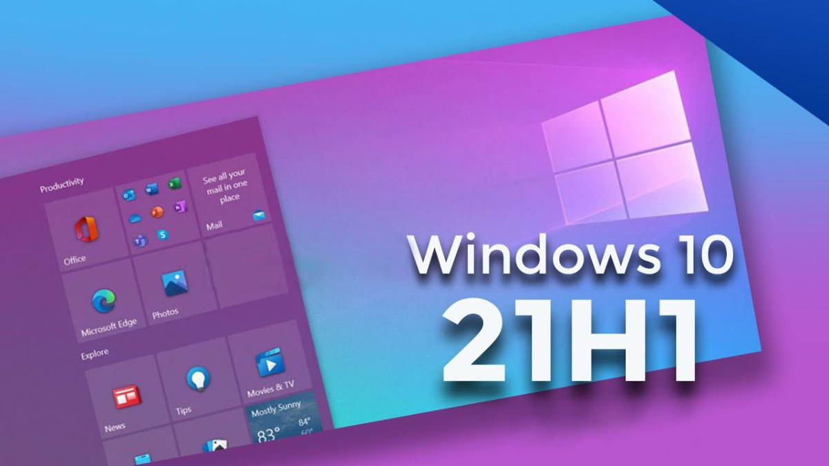 Windows 10 21H1 Logo