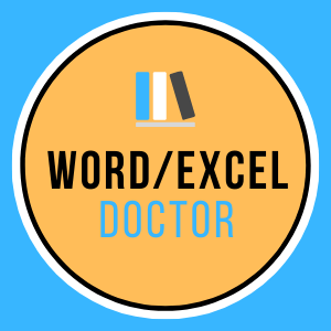 Word/Excel's Doctor