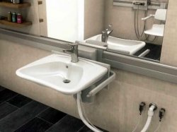 Adjustable Sink pneumatic mode