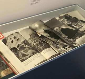 Victory Books in '67 with iconic pictures
