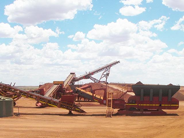 MXP2 Iron ore MAX Plant mining project Australia 7