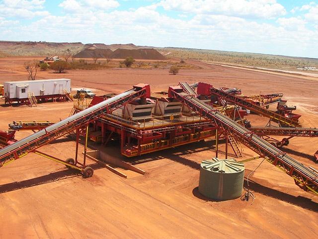 MXP2 Iron ore MAX Plant mining project Australia 6