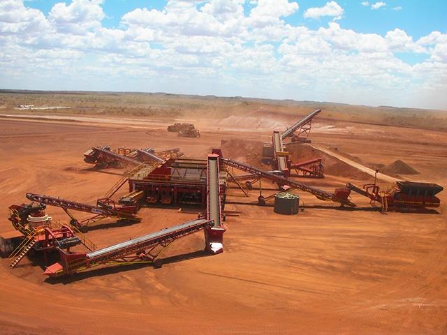 MXP2 Iron ore MAX Plant mining project Australia 10