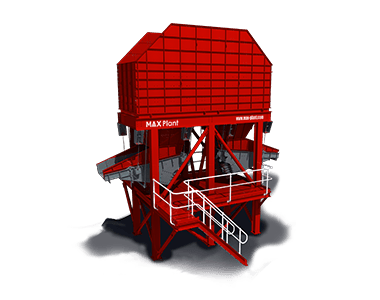 ground feed bin