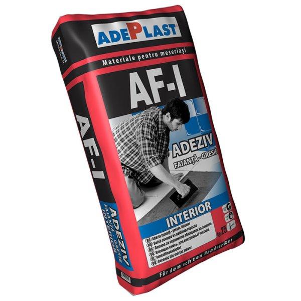 Adeziv pentru gresie si faianta, ADEPLAST AF-I 25 kg pentru interior