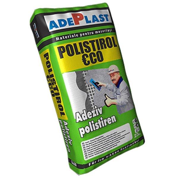 Adeziv pentru polistire, ADEPLAST Polistirol Eco 25 kg, pentru interior si exterior
