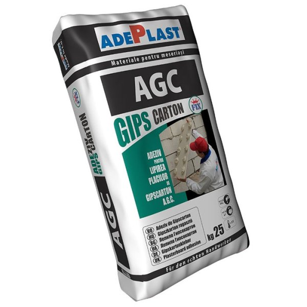 Adeziv placi gips carton Adeplast AGC, 25 Kg