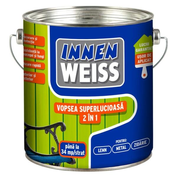 Innenweiss vopsea superlucioasa 2 in 1
