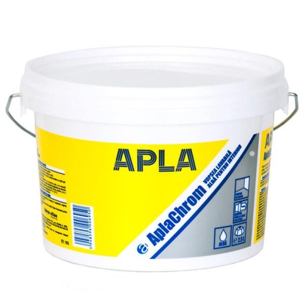 Vopsea lavabila pentru interior AplaChrom alb 2.5L