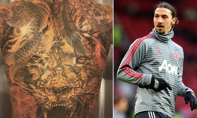 Ibrahimovic Shows Off Stunning New Back Tattoo - 102.3 Max FM Zlatan Ibrahimovic Back Tattoos