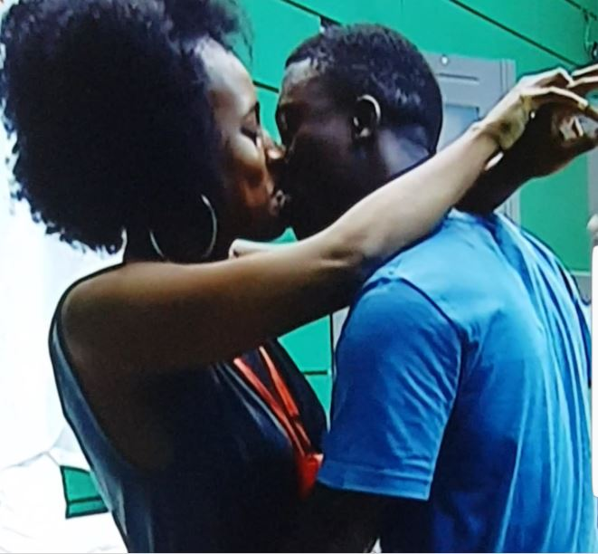 BBNaija: K-Brule chooses to eat pepper instead of kissing Anto during truth or dare game ... Minutes later Anto and Lolu kiss passionately