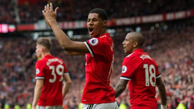 Rashford Scores Twice as Man Utd Defeat Liverpool