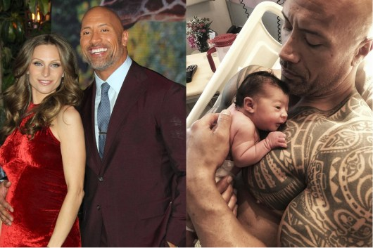 Dwayne Johnson, 'The Rock' Welcomes Third Child