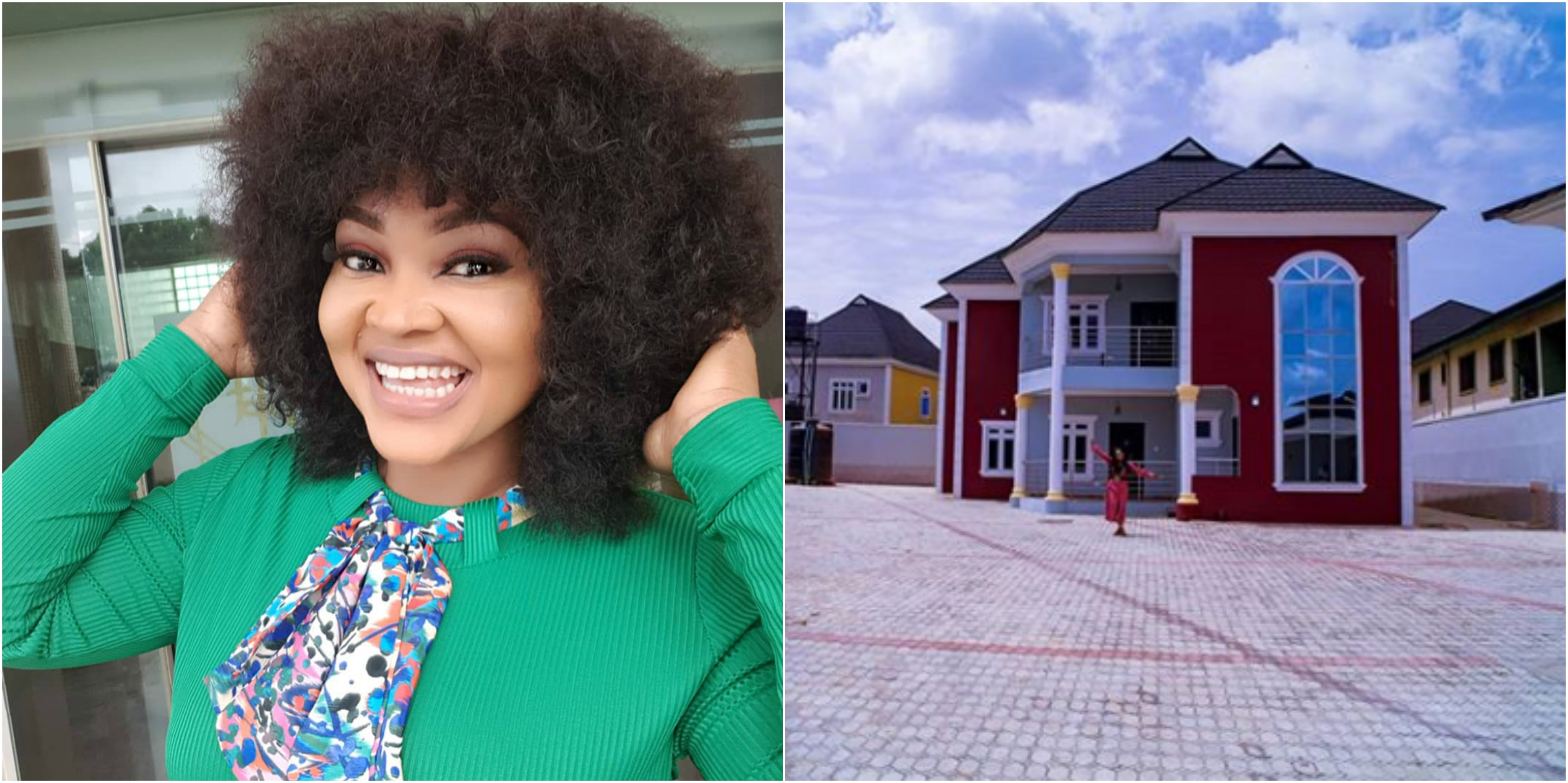 Mercy Aigbe Acquires New House